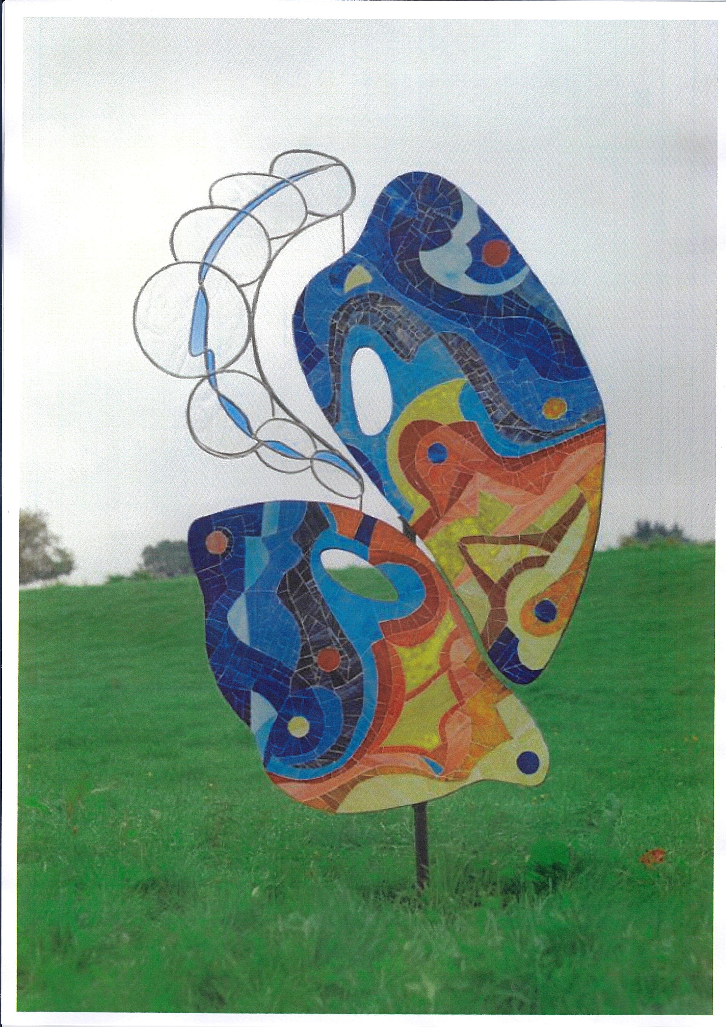 Marcelle Majerus Nizet - Papillon
